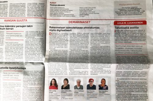 Viikko Savo-Karjalan lehden lehtileike